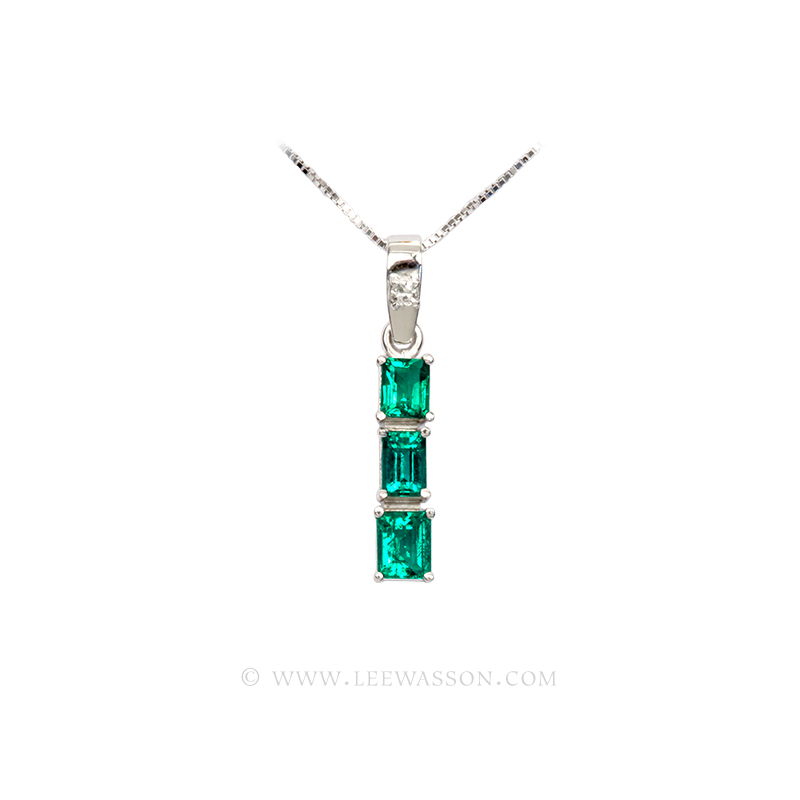 [:en]Lee Wasson´s 19668 White Gold Pendant[:es]Lee Wasson 19668 Pendiente Oro Blanco
