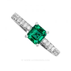 Colombian Emerald Ring 19675
