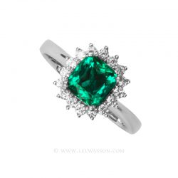 Colombian Emerald Ring 19676