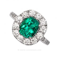 Colombian Emerald Ring 19682