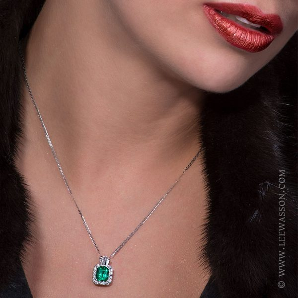 Photo Session New Collection 2017 Colombian Emerald - Lee Wasson