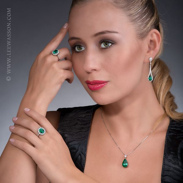 Colombian Emerald Jewelry. leewasson.com - 19682 - 9
