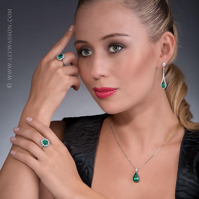 Colombian Emerald Jewelry. leewasson.com - 19682 - 9