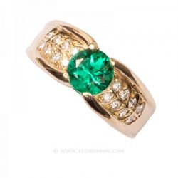 Colombian Emerald Ring 19686