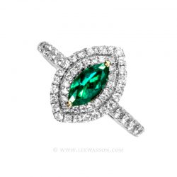 Colombian Emerald Ring 19690