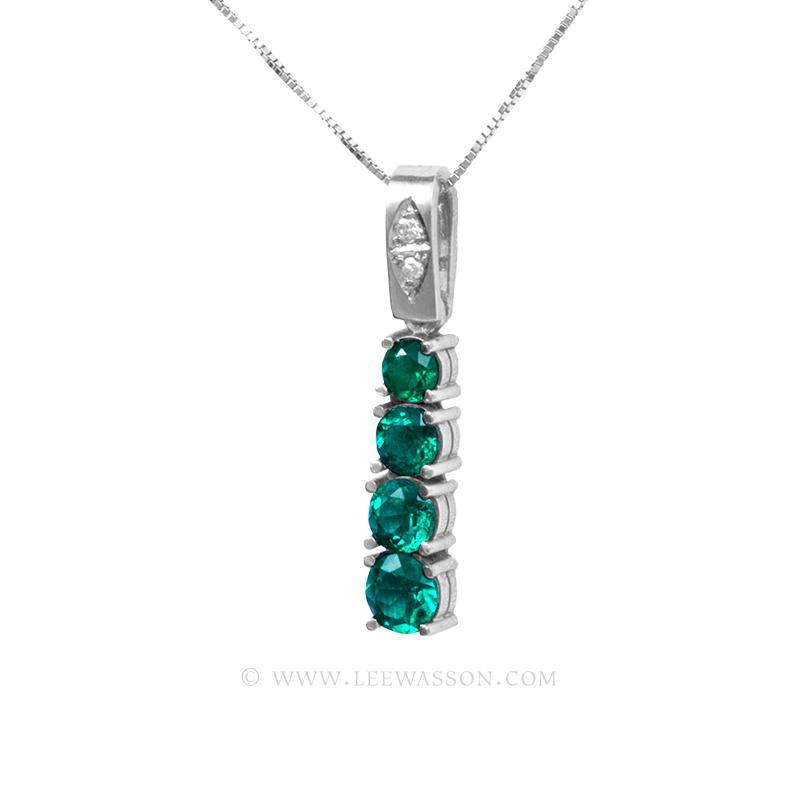 Colombian Emerald Pendant 19695