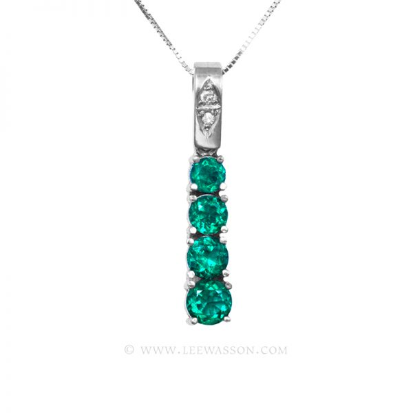 Colombian Emerald Pendant 19695