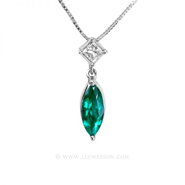 Colombian Emerald Pendant 19699