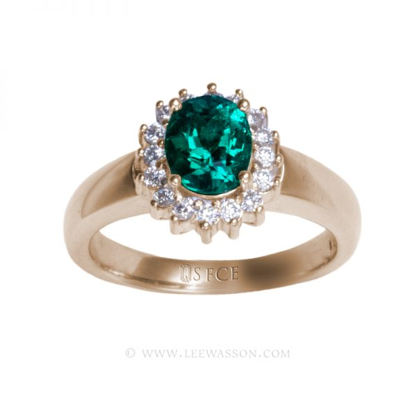 Colombian Emerald Ring 19702
