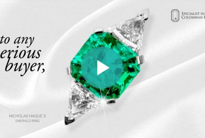 A Subject Matter Expert in Emeralds - Lee Wasson