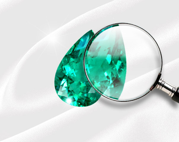 emerald-loupe, Learn the Secret to Locate Inclusions in Colombian Emeralds - leewasson.com- 3