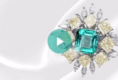 The Creation of a One-of-a-Kind Colombian Emerald Ring begins with the stone - Lee Wasson