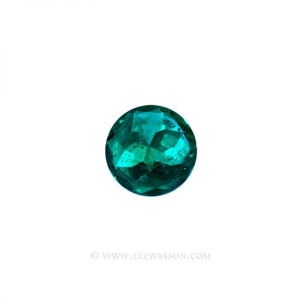 19737- Round Brilliant Cut Emerald | Lee Wasson