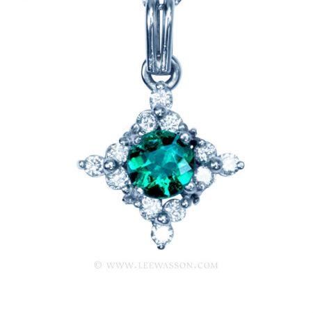 Colombian Emerald Pendant 19744