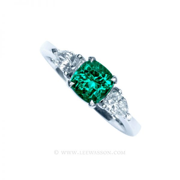 Colombian Emerald Ring 19748