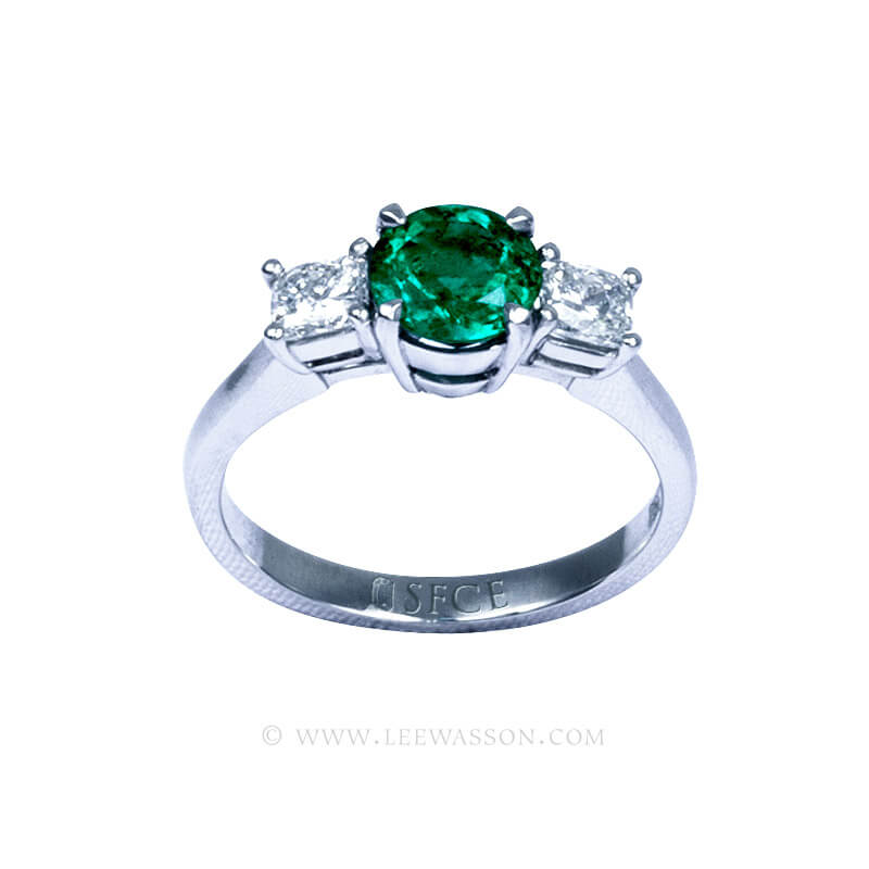 Colombian Emerald Ring 19751