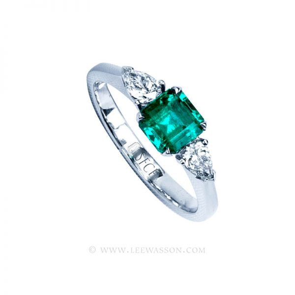Colombian Emerald Ring 19752