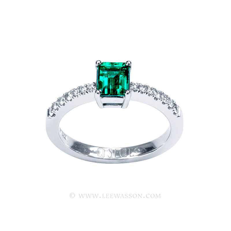 Colombian Emerald Ring 19757