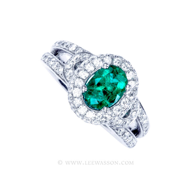 Colombian Emerald Ring 19758