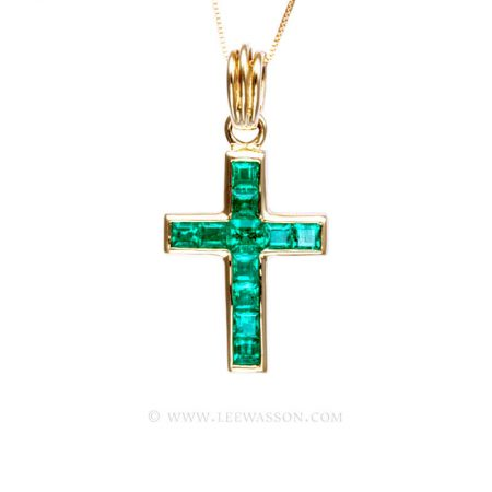 Colombian Emerald Pendant 19740
