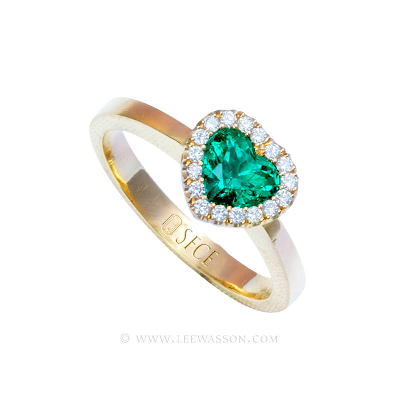 Colombian Emerald Ring 19749